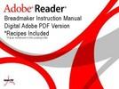 Thumbnail Panasonic Bread Bakery Parts model SD 206 instruction manual   recipes UK Version SD206.pdf